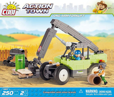 COBI - Construction Blocks, Action Town: Long Arm Forklift - 160pc