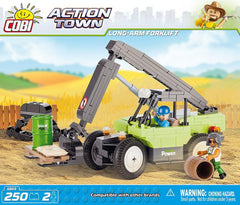 Action Town: Long Arm Forklift - 160pc