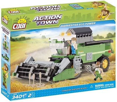 COBI - Construction Blocks, Action Town: Combine Harvester Eco Power - 340pc