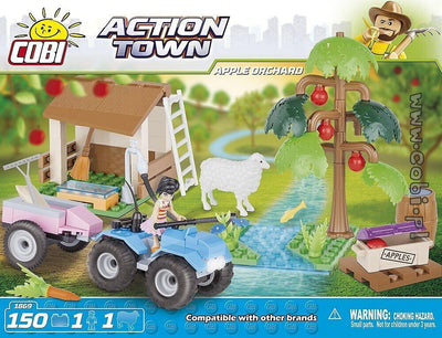 COBI - Construction Blocks, Action Town: Apple Orchard - 150pc