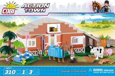 COBI - Construction Blocks, Action Town: Countryside Farm - 310pc