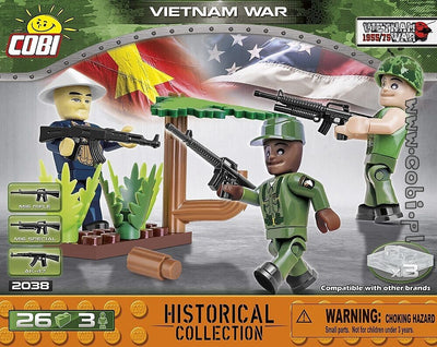 COBI - Construction Blocks, Vietnam War: Vitenam War Soldiers - 26pc