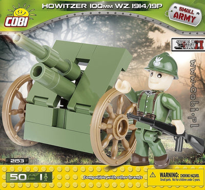 COBI - Construction Blocks, Historical Collection WWII: Howitzer 100 mm Wz. 1914/19P - 50pc