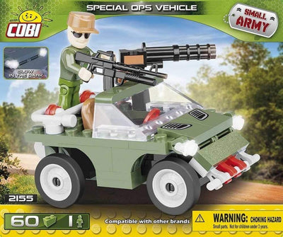 COBI - Construction Blocks, SPECIAL OPS VEHICLE 60PC