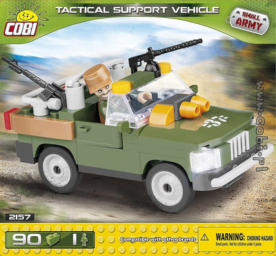 COBI - Construction Blocks, TACTICAL SUPPORT VEHICLE