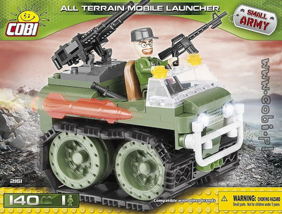 COBI - Construction Blocks, ALL TERRAIN MOBILE LAUNCHER - 140 PCS