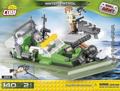 COBI - Construction Blocks, WATER PATROL 140PC