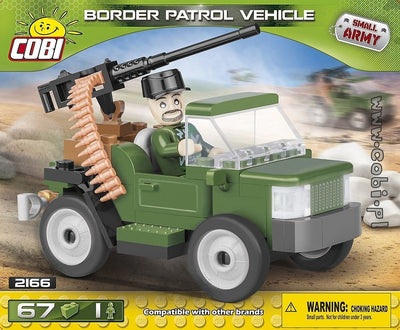 COBI - Construction Blocks, BORDER PATROL VEHICLE