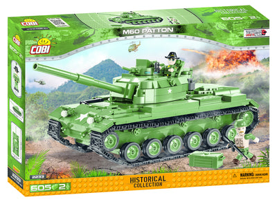 COBI - Construction Blocks, M60 PATTON 605PC
