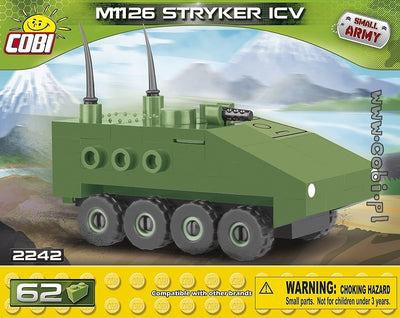 COBI - Construction Blocks, M1126 STRYKER ICV 62PC