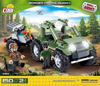 COBI - Construction Blocks, BORDER PATROL BUGGY 150PC