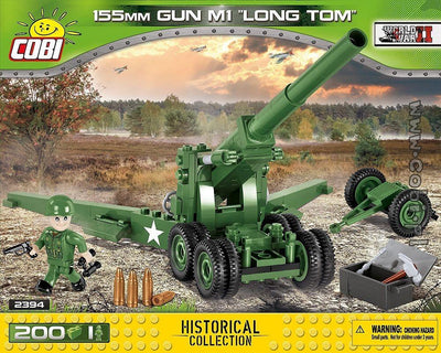 COBI - Construction Blocks, 155MM GUN M1 LONG TOM 200PCS