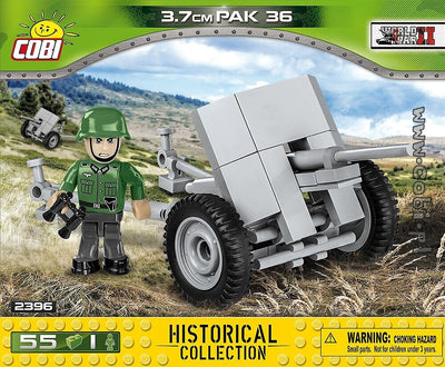 COBI - Construction Blocks, 3.7CM PAK36 55PC