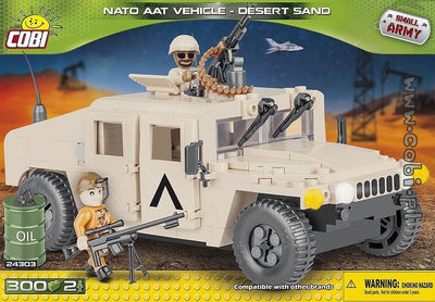 COBI - Construction Blocks, NATO AAT VEHICLE DESERT 300PC
