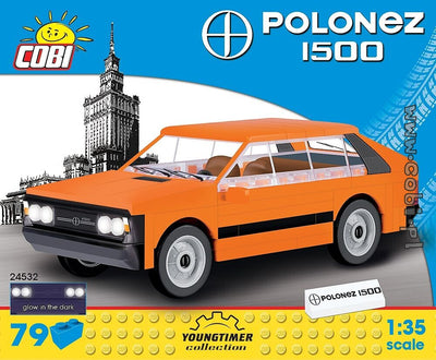 COBI - Construction Blocks, FSO Polonez 1500 - 79pc