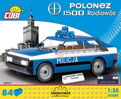 COBI - Construction Blocks, POLONEZ 1500 RADIOWOZ