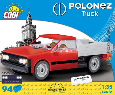 COBI - Construction Blocks, FSO Polonez Truck - 94pc