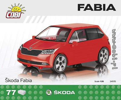 COBI - Construction Blocks, Skoda: Fabia - 77pc