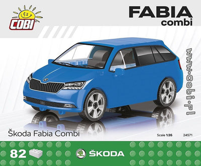 COBI - Construction Blocks, Skoda: Fabia Combi - 82pc