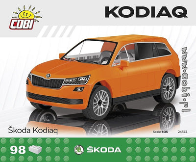 COBI - Construction Blocks, Skoda: Kodiaq - 98pc