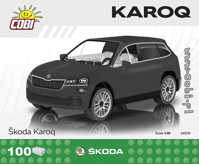 COBI - Construction Blocks, Skoda: Karoq - 100pc
