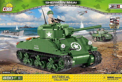 COBI - Construction Blocks, Sherman M4A1 - 480pc