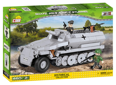COBI - Construction Blocks, SDKFZ 251/9 Ausf. C Stummel - 460PC