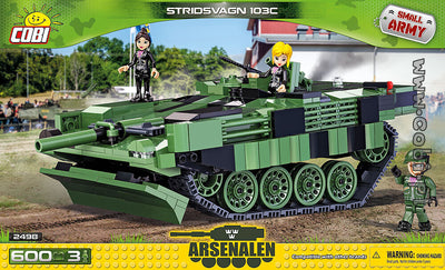COBI - Construction Blocks, Stridsvagn S-Tank 103C - 600PC