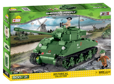 COBI - Construction Blocks, Sherman Firefly - 500pc