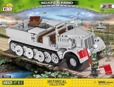 COBI - Construction Blocks, SDKFZ 9 Famo - 412PC