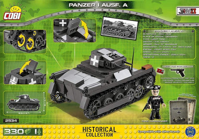 COBI - Construction Blocks, Panzer I Ausf. A - 330pc
