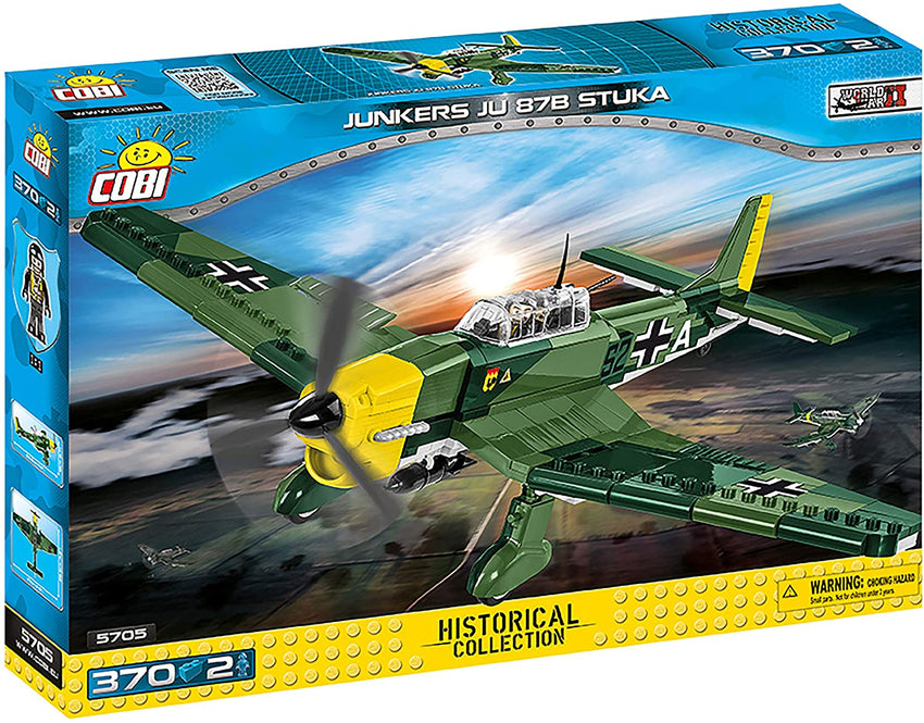 Historical Collection WWII: Junkers Ju 87B Stuka - 380pc