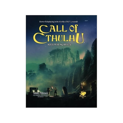 Role Playing Games, Call of Cthulhu: Keeper Screen Pack