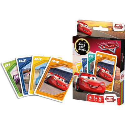 Card Games, Shuffle 4 in 1: Cars