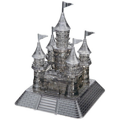 3D Jigsaw Puzzles, Castle - Black