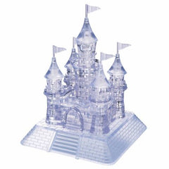 CLEAR CASTLE CRYSTAL PUZZLE