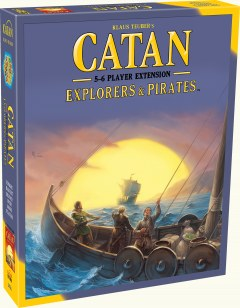 Board Games, CATAN: Explorers & Barbarians 5-6 Players