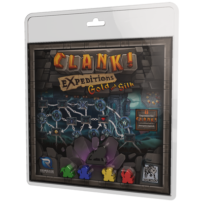 Card Games, Clank! Expeditions: Gold & Silk