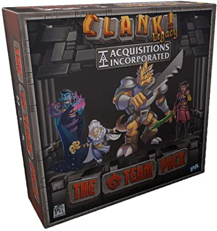 Clank! Legacy: Acquistions Incorporated - The 'C' Team Pack