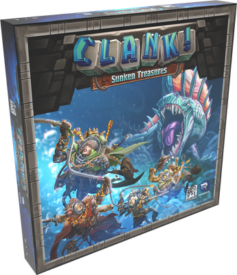 Card Games, Clank! Sunken Treasure