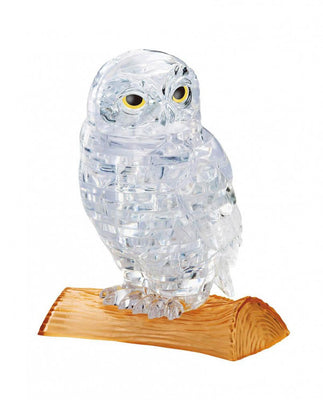 3D Jigsaw Puzzles, OWL CLEAR CRYSTAL PUZZLE