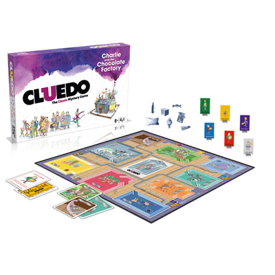 Board Games, Cluedo: Charlie & the Chocolate Factory