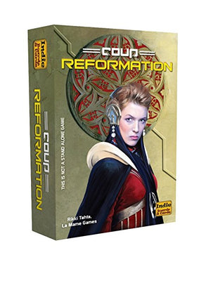 Card Games, Coup: Reformation Expansion
