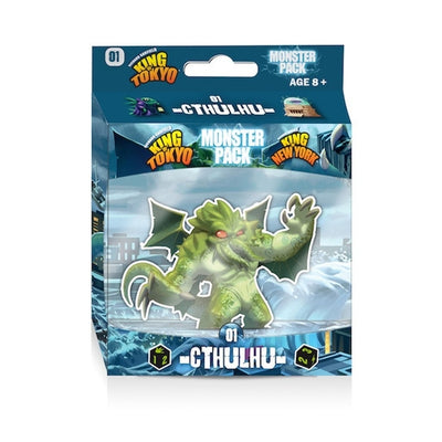 Board Games, King of Tokyo/New York: Cthulhu Monster Pack