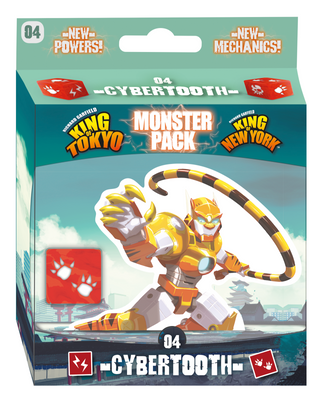Board Games, King of Tokyo/New York: Cybertooth Monster Pack
