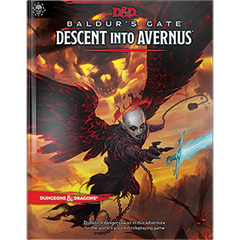 D&D BALDUR DESCENT TO AVERNUS