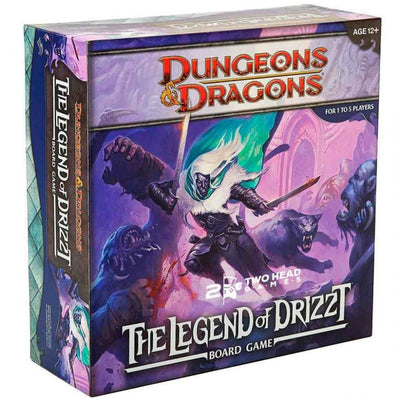Board Games, D&D: The Legend of Drizzt