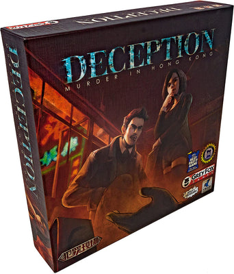 Card Games, Deception: Murder in Hong Kong