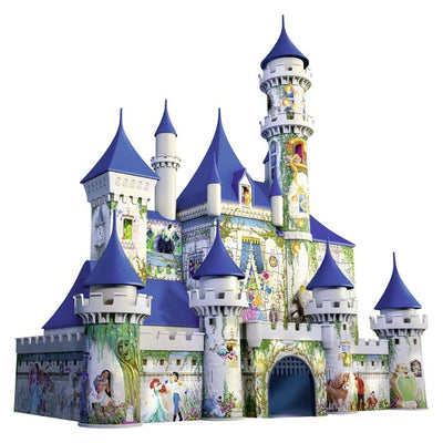 Jigsaw Puzzles, Disney 3D Princess Castle - 216pc