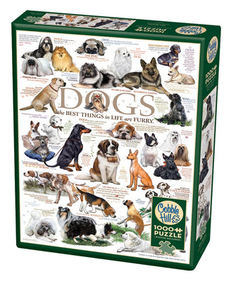 Jigsaw Puzzles, Dog Quote - 1000pc